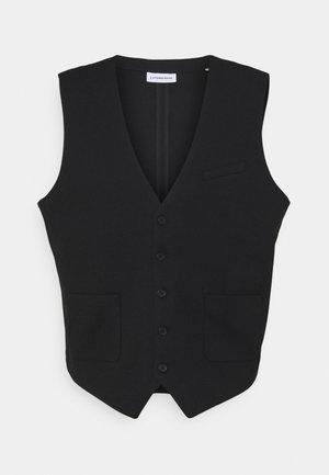 SUPERFLEX  WAISTCOAT PLUS - Waistcoat - black