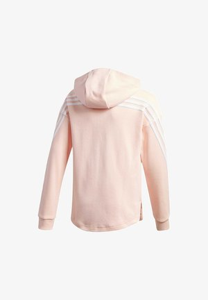 3-STRIPES FULL-ZIP HOODIE - Bluza rozpinana - pink