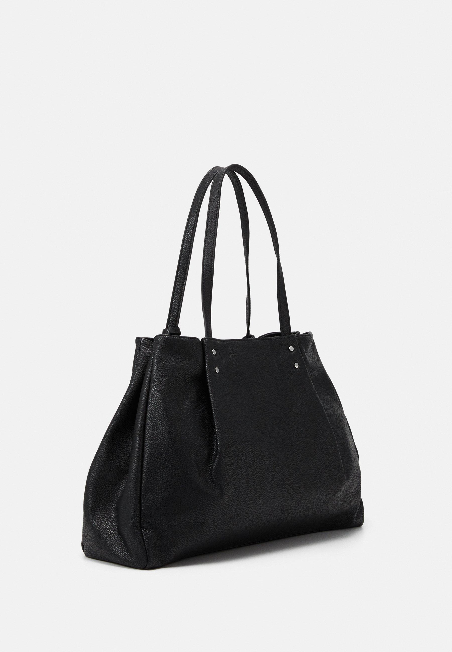 Benetton Shopping Bag - Black/schwarz