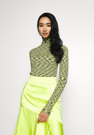 KIRSTEN TURTLENECK - Jumper - neon yellow