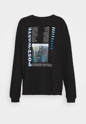 ENNIEBUHR PRINT - Sweatshirt - waste black