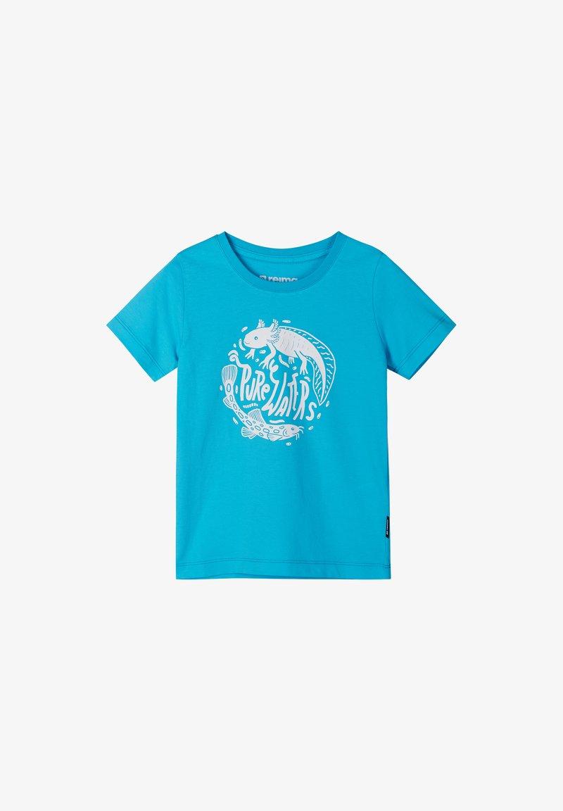 Reima - AJATUS - Print T-shirt - aquatic