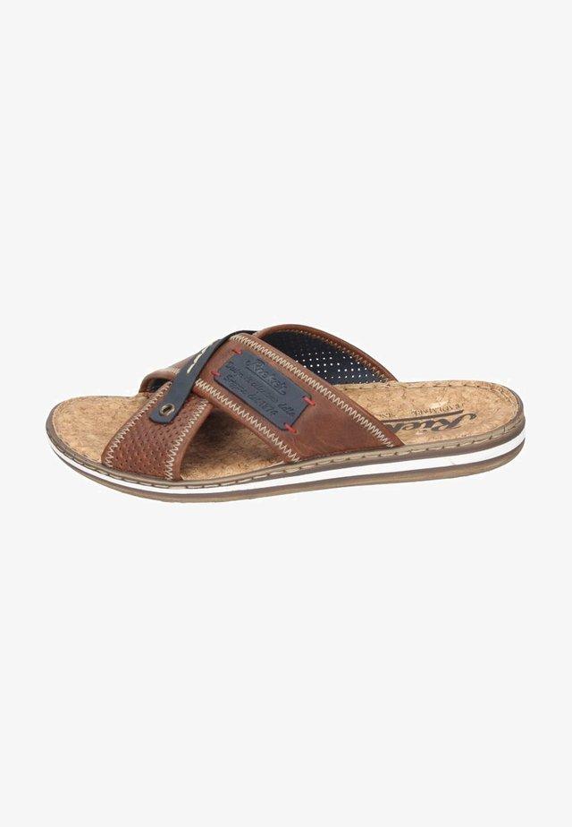 Sandaler - marron/denim