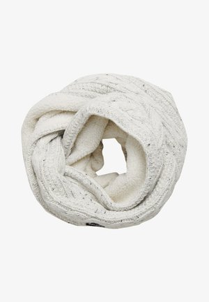 GRACIE CABLE - Écharpe tube - winter white tweed