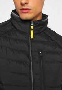 TOM TAILOR - HYBRID JACKET - Light jacket - black - 5