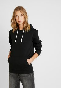 Pier One - Sweat à capuche - black - 3