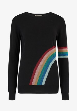 SWEATER RITA DAZZLING RAINBOW - Jumper - black