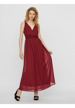 SPITZENHEMDCHEN - Maxi dress - tibetan red
