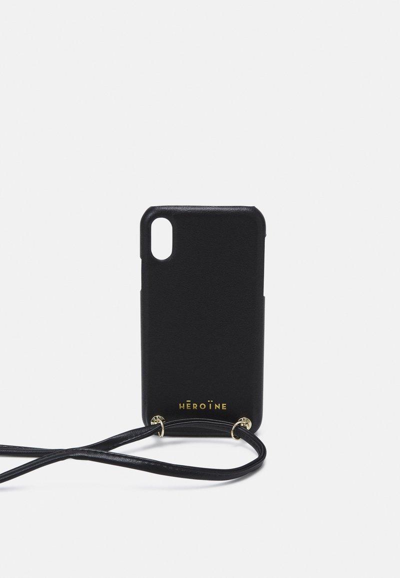 Maison Hēroïne - YUNA IPHONE XR HANDYKETTE NECKLACE - Funda para móvil - black