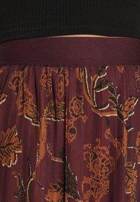 Mos Mosh - PLISSÉ SKIRT - A-line skirt - purple - 4