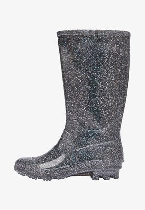 WELLIES - Gummistövlar - metallic grey