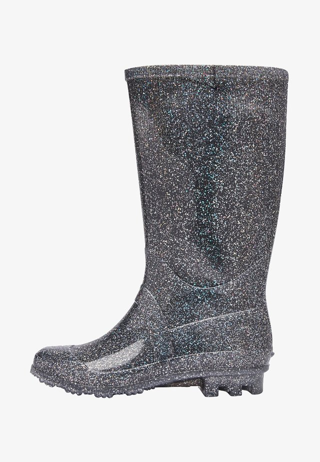 WELLIES - Gummistiefel - metallic grey