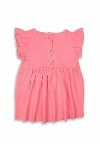 Cigit - CAT  - Jersey dress - neon pink - 1