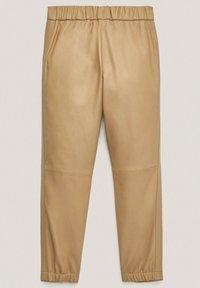 Massimo Dutti - Tracksuit bottoms - beige - 1