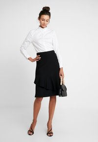 Rich & Royal - BLOUSE WITH RUFFLES - Bluser - white - 1