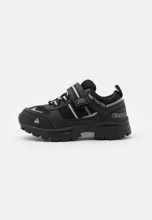 HOVET TEX LOW UNISEX - Zapatillas de senderismo - black/silver