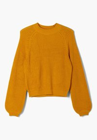 s.Oliver - SOFTER - Jumper - yellow knit - 3