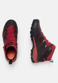 Mammut - DUCAN MID GTX - Hiking shoes - dark spicy-black - 1