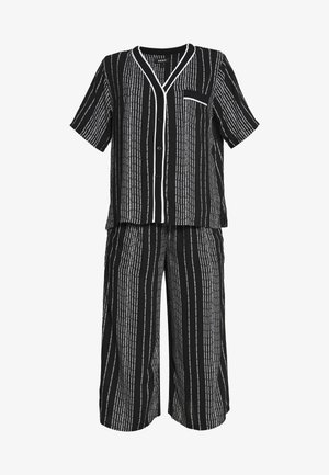 CAPRI SET - Pyjamas - black