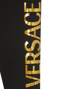 Versace - BOTTOM FELPA - Leggings - Trousers - nero - 2