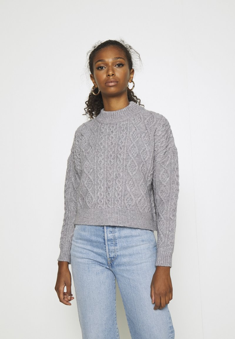 Fashion Union - CABBIE - Jumper - grey