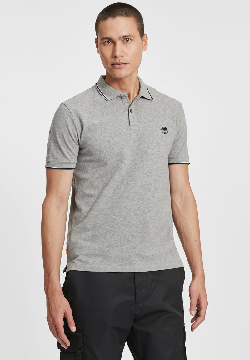 Timberland - Polo shirt - medium grey heather