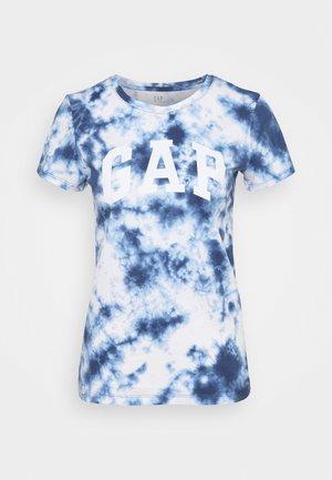 TEE - T-shirt med print - navy