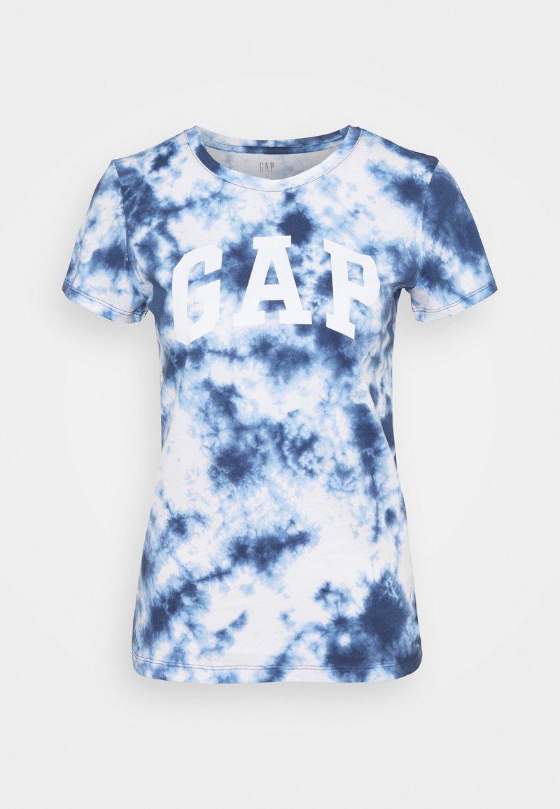 GAP - TEE - T-shirt med print - navy