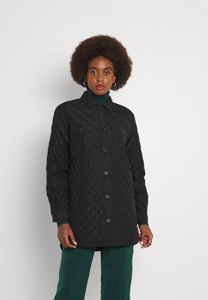 ONLNAYRA QUILT SHACKET  - Light jacket - black