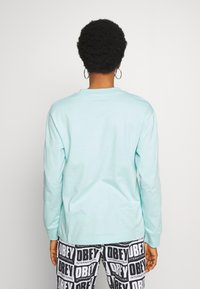Obey Clothing - SONIC CREW - Long sleeved top - sky high - 2