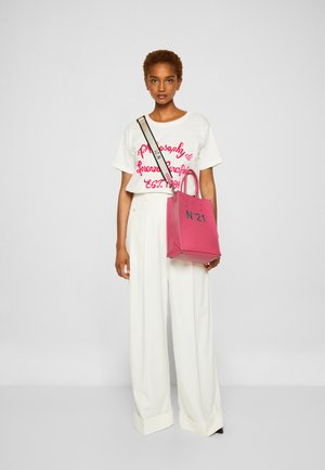 SHOPPING BAG VERTICALE - Håndveske - pink