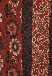 Desigual - FAL ROSAL DESIGNED BY MR CHRISTIAN LACROIX - Falda larga - borgoña - 5