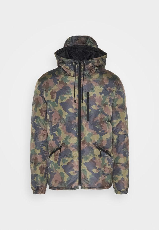 APPLEWOOD HOODED - Zimní bunda - camo