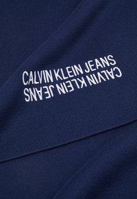 Calvin Klein Jeans - MIRROR LOGO SCARF - Scarf - night sky - 3