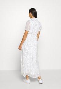 YAS - YASMOERKI ANKLE DRESS - Maxikleid - white - 2