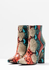 BEBO - SONIA - Classic ankle boots - red/multicolor - 4