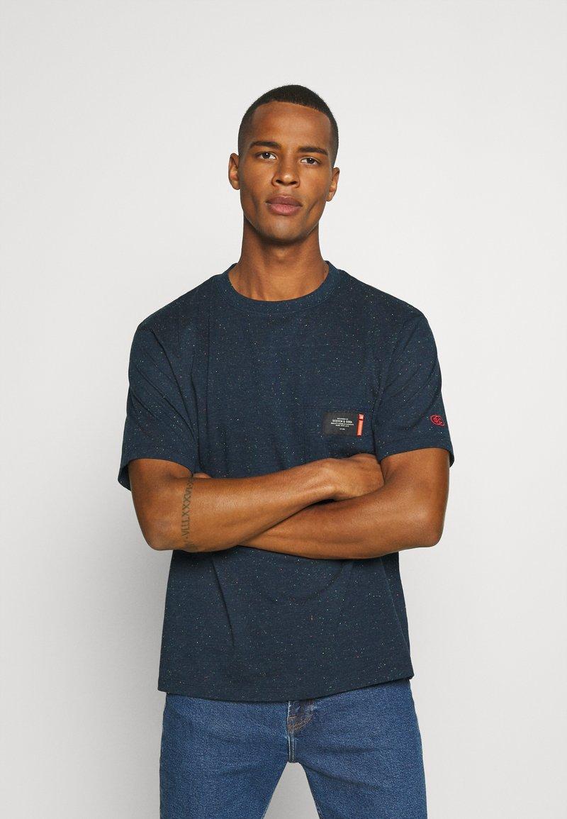 Scotch & Soda - T-shirt basic - navy melange