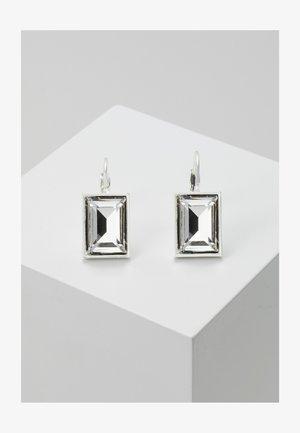 TRUE EAR - Earrings - silver-coloured/clear