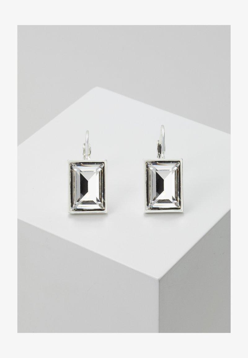 SNÖ of Sweden - TRUE EAR - Earrings - silver-coloured/clear