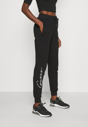 ALEXANDRA LONG PANT - Tracksuit bottoms - jet black