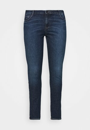 HARLEM LUCY CURVE - Jeans Skinny Fit - blue denim