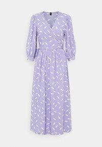 YAS - YASWENDY WRAP DRESS - Vestito lungo - wendy - 0