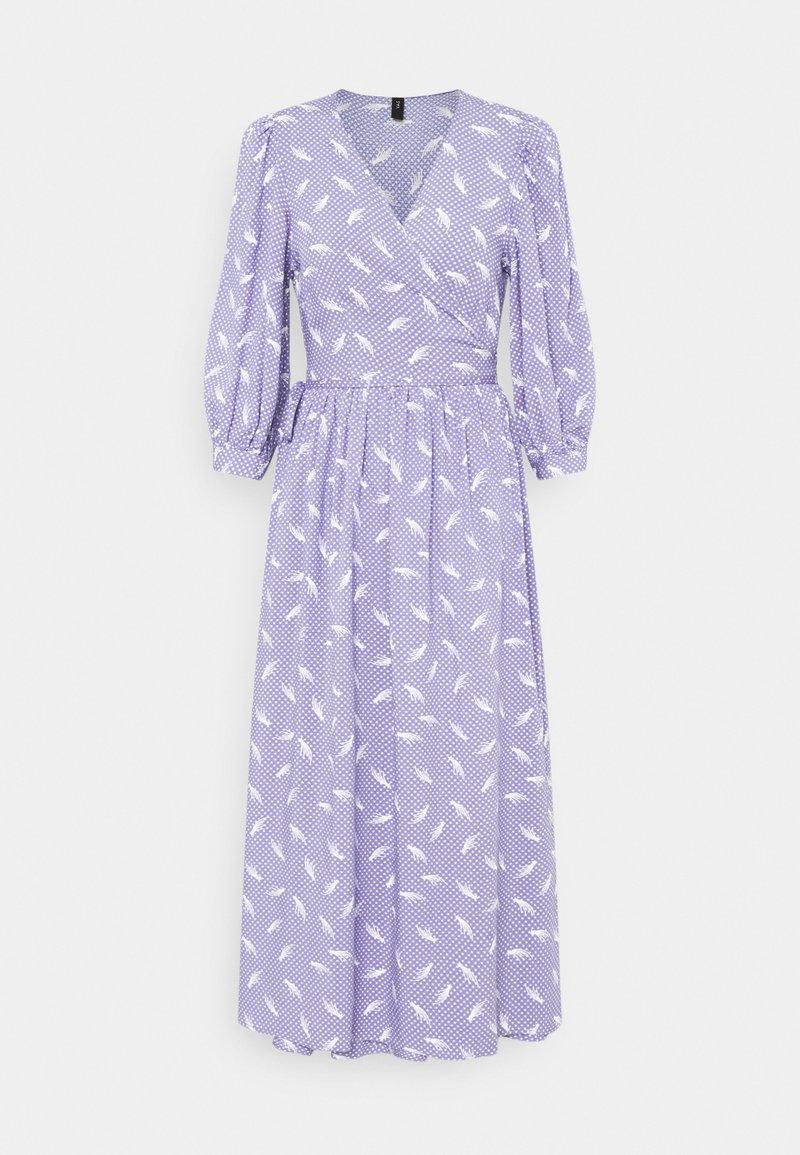 YAS - YASWENDY WRAP DRESS - Vestito lungo - wendy