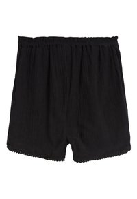 Next - BLACK TRIM DETAIL SHORTS (3-16YRS) - Shorts - black - 1