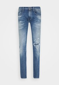 Replay - ANBASS AGED - Slim fit jeans - light blue - 3