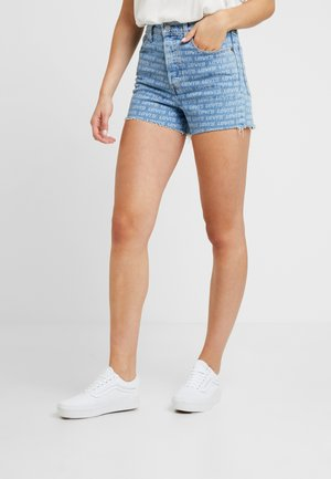 RIBCAGE  - Jeans Short / cowboy shorts - levis all over