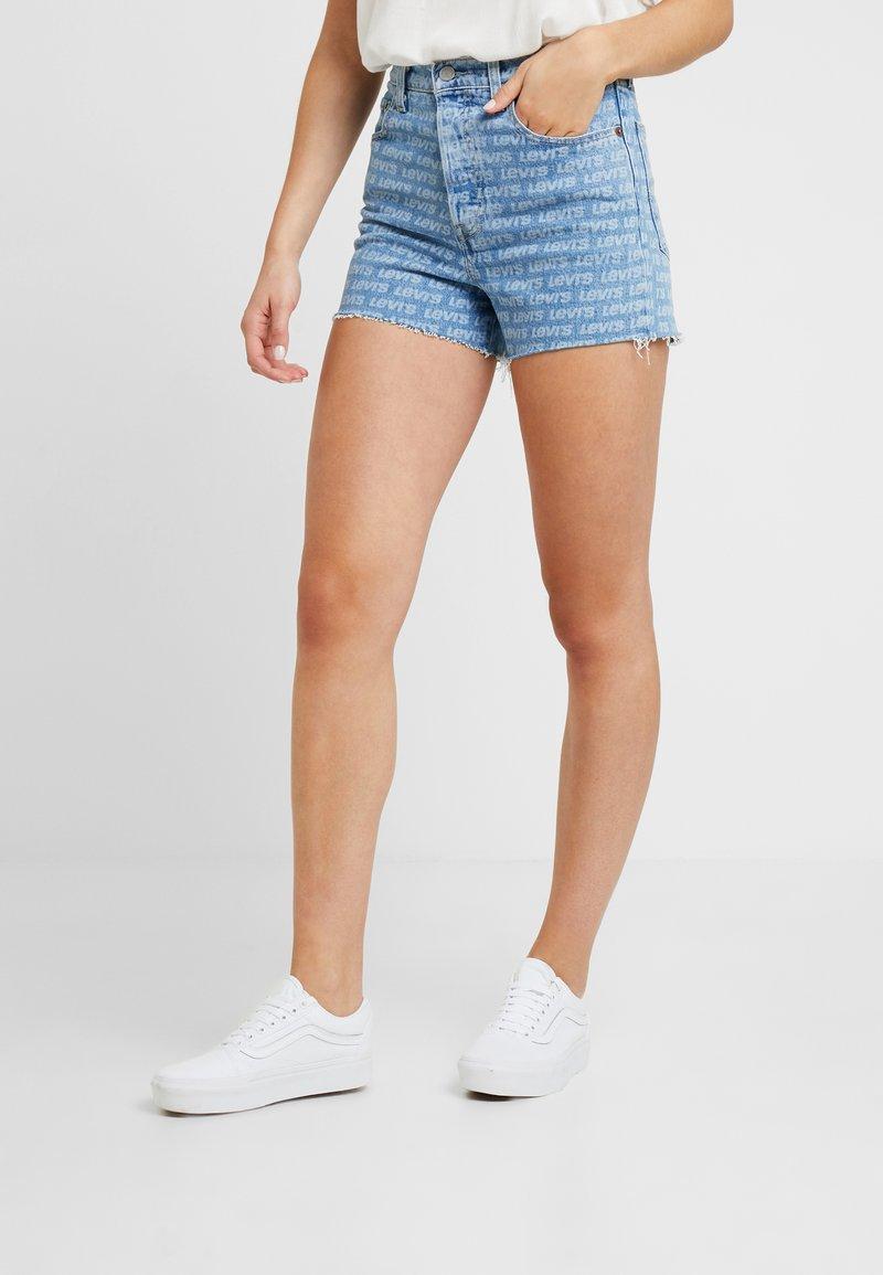 Levi's® - RIBCAGE  - Shorts vaqueros - levis all over