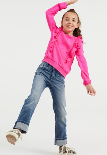 MET VOLANT - Long sleeved top - bright pink