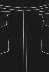 Steffen Schraut - POCKET SKIRT SPECIAL - Pencil skirt - black - 6