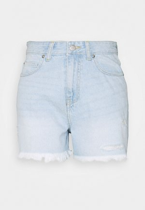 NORA - Denim shorts - superlight blue